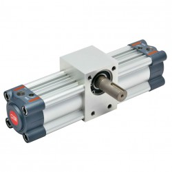 R1 - Actuador rotativo Ø80 - 360º con regulación de ángulo