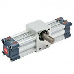 R1 - Actuador rotativo Ø100 - 90º con regulación de ángulo