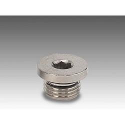 A7 M5 - Tapón allen rosca cilíndrica en latón