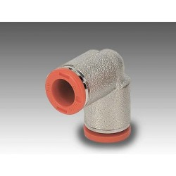 RL4 Ø6 - Racor codo tubo-tubo en latón