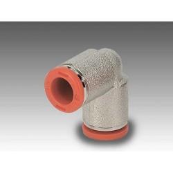 RL4 Ø8 - Racor codo tubo-tubo en latón