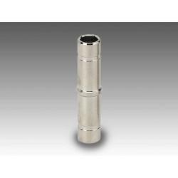 R7 Ø10 - Racor adaptador prolongación en latón