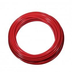 Tubo PU98 Ø2,5x4 rollo 100 metros rojo