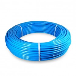 Tubo PU98 Ø4x6 rollo 100 metros azul