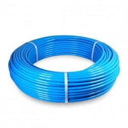 Tubo PU98 Ø6x8 rollo 100 metros azul