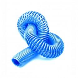 Espiral de PA11 Ø4 x 6 en 30 metros azul
