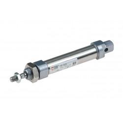 Cilindro ISO 6432 Ø20 x 25 mm magnético amortiguado
